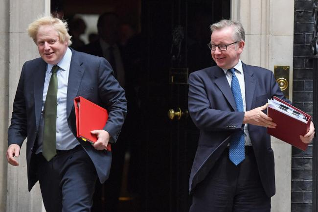 Moving in opposite directions: Johnson and Gove the best of frenemies