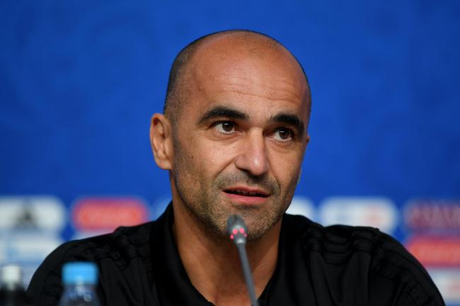 SAINT PETERSBURG, RUSSIA - JULY 09:  Roberto Martinez, Head coach of Belgium speaks to the media at Saint Petersburg Stadium on July 9, 2018 in Saint Petersburg, Russia.  (Photo by Shaun Botterill/Getty Images).