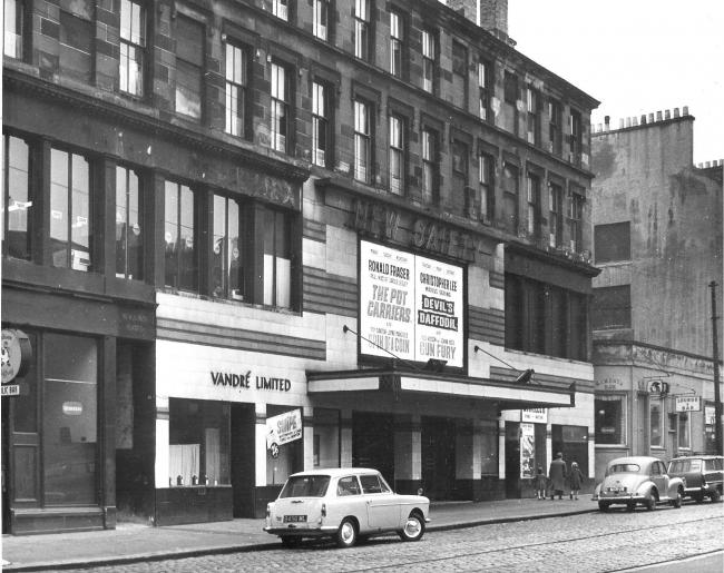 The Gaiety cinema, Glasgow's replacement concert hall, in 1962