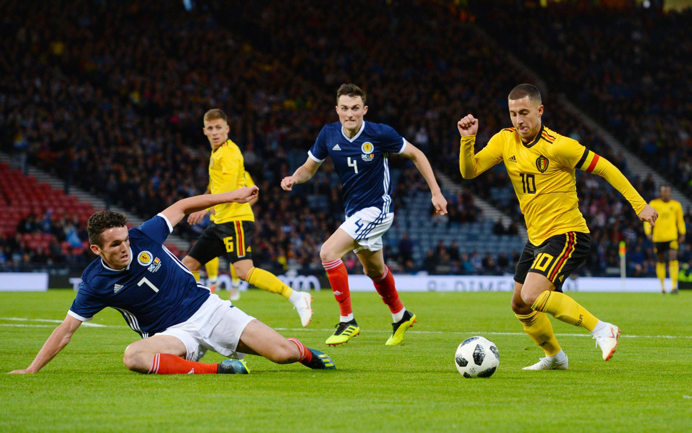 Belgium v Scotland: Kick-off time, TV details and odds