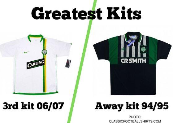 Greatest Kits | Celtic: 06/07 v 94/95