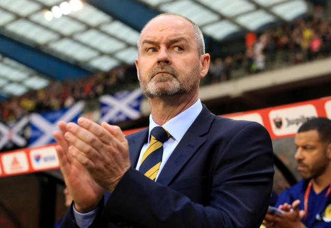 Steve Clarke has picked up three points from his first two games in charge of the national side PHOTO: PA