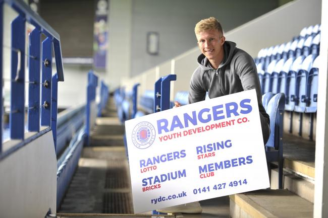 Ross McCrorie promotes the Rangers Youth Development Company