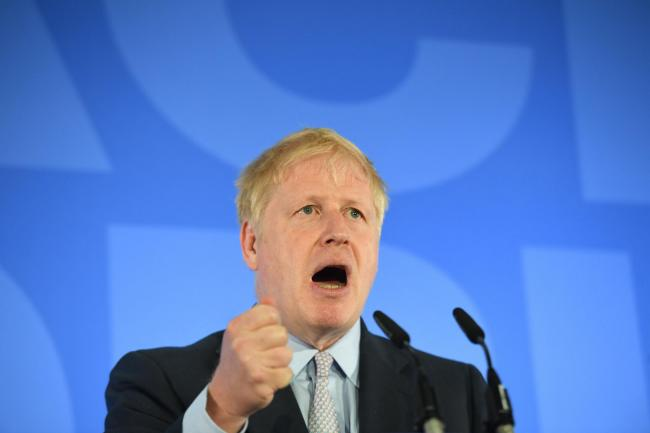 Sizzling synergy? Johnson says as PM he would do everything he can to strengthen the Union - the 'awesome foursome'