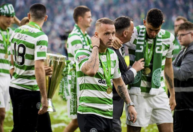 19/05/19 LADBROKES PREMIERSHIP.CELTIC v HEARTS.CELTIC PARK - GLASGOW.Celtic's Leigh Griffiths.