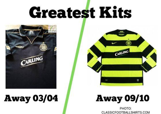 Greatest Kits | Celtic: 03/04 v 09/10