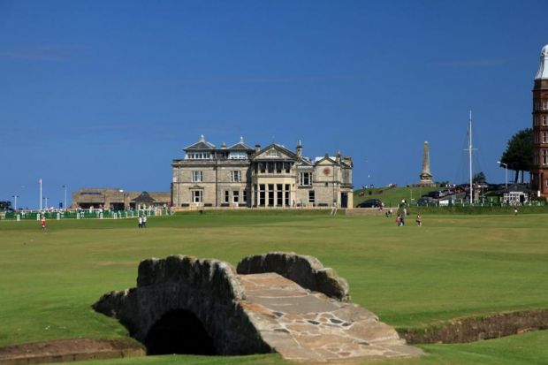 Golf chief hits back in row over men-only policy