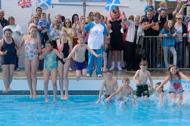 In Pictures Baton Relay Day 8 East Ayrshire Heraldscotland