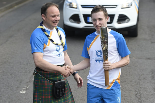 In pictures: baton relay day 5 - Scottish Borders