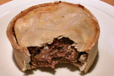 Related keywords suggestions for scotch pie for Mince and tatties calories