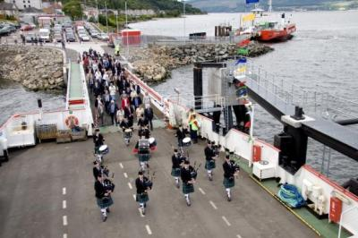 Sticking POINT: The tribunal said Western Ferries was not fully certificated for the route between McInroy's Point and Hunter's Quay.