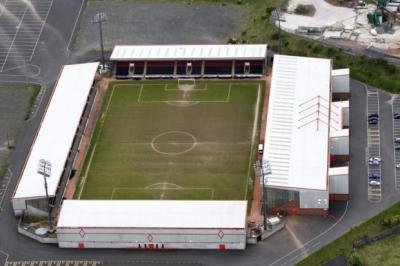 The Excelsior Stadium is used by Airdrie United and also hosts a range of other commercial events