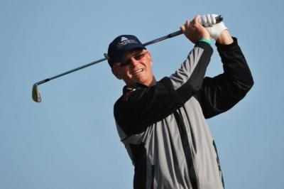 Stephen Gallacher is five shots off the pace and the best placed Scot in the field. Picture: PA