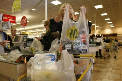 CASH-SAVVY: Morrisons said customers are buying more bargains and fresh food. Picture: Colin Mearns