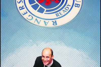 ACTION: Ex-Ibrox chief executive Martin Bain is suing Rangers over his departure. Picture: Stewart Attwood