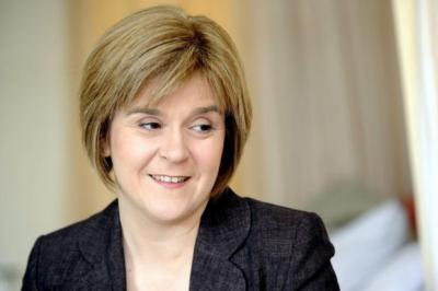 nicola sturgeon: Said new body would save money.