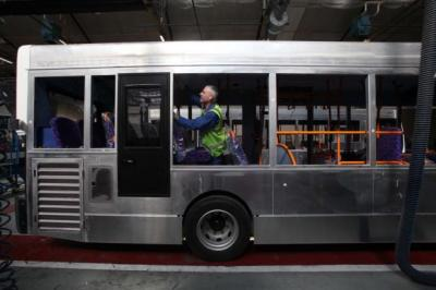 DEPARTURE: Scottish bus builder Alexander Dennis told the stock market yesterday it had scrapped plans to buy Optare. Picture: Gordon Terris DRIVING FORCE: chief executive Colin Robertson.
