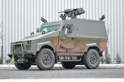 Protected: A Zephyr ZX2, one of the armoured vehicles developed by Creation UK, which was acquired by Penman Engineering last year.