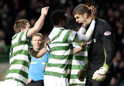 Fraser Forster's penalty save against Hearts was a turning point