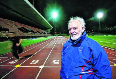 Bill Walker has been recognised for his coaching work with young Scottish athletes over the last half century. Picture: Steve Cox