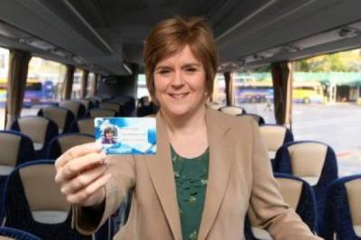 NICOLA STURGEON: Taking the first steps towards a universal card.