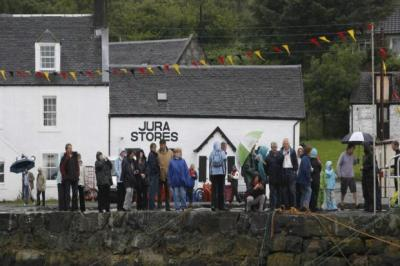 Jura Stores, in Craighouse, is the only shop on the island.