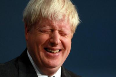 IN CHARGE: London Mayor Boris Johnson inspired the sort of rapturous reception at the Conservative conference normally reserved for the Prime Minister. Picture: PA