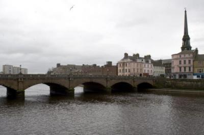 DISMAL CONTENDER: Ayr is one of the towns nominated for a Scottish magazine's Plook on the Plinth Awards.