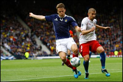 Christophe Berra insists  that Scotland's players  are enjoying life under  Craig Levein, despite the disappointing start to the campaign. Picture: SNS
