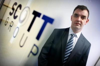 GOING FOR GROWTH: Norman Scott, managing director of Halbeath-based Scott Group, has presided over a spate of acquisitions across the UK. Picture: Stewart Attwood