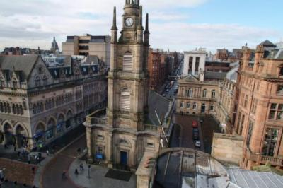 SADDENED: The Rev Philip, the minister of St George's Tron, said the congregation is very disappointed by the action of Glasgow Presbytery.