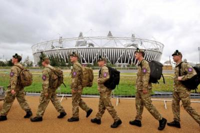 debacle: G4S came in for heavy criticism after it failed to provide enough stewards for the Olympics and the Army was drafted in. Picture: PA