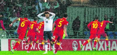 There is no way back for Craig Levein after defeat by Wales in Cardiff. Picture: SNS