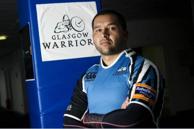 German Araoz has been brought in on a three-month contract to help with Glasgow's front-row injury problems. Picture: SNS
