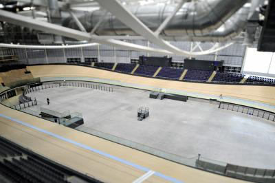 The Sir Chris Hoy Velodrome  provides an opportunity for future generations to develop their potential. Picture: Jamie Simpson
