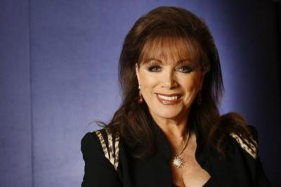Jackie COLLINS: The truth of celebrity lives, she says, is much more bizarre than  her fiction. Picture: Colin Mearns