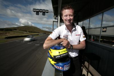 Gordon Shedden holds a 15-point lead in the championship