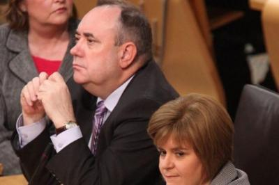 DENIAL: Alex Salmond rejected claims he had lied about the EU legal advice issue