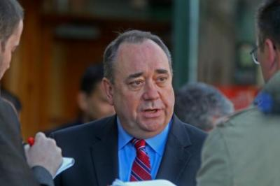 PRESSURE: Alex Salmond faced a barrage of criticism over EU legal advice issue. Picture: Gordon Terris