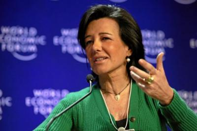 HELPING HAND: Santander UK boss Ana Botin said lending to SMEs has risen by an average of 20% per annum in the past three years.