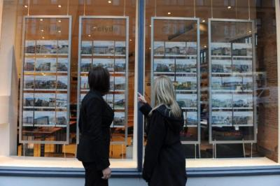 SLUMP: House sales in Scotland for the quarter to September were half the total recorded for the same period in 2007-08. Picture: Nick Ponty