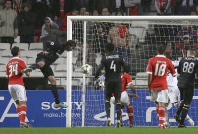 Samaras scores Celtic's goal
