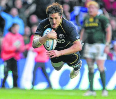 Henry Pyrgos impressed the game against South Africa. Picture: Stewart Attwood