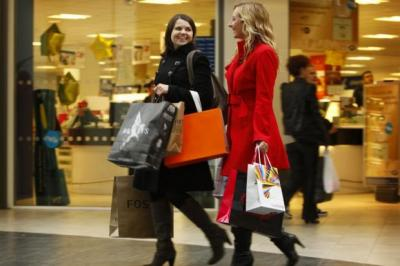 SPEND IT: Retail sales volumes in Scotland rose by 0.9% for the third quarter of the year Picture: Colin Mearns