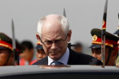 going GLOBAL:  European Council chief Herman Van Rompuy said no-one can gain from separatism.