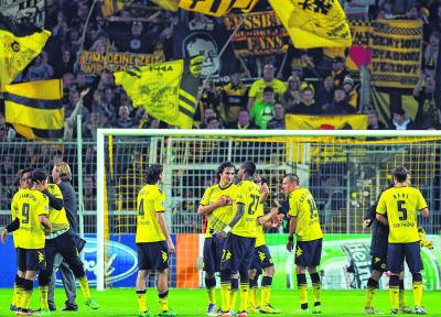 Borussia Dortmund is an example of a club that faced financial catastrophe but returned as a stronger entity. Picture: Getty Images