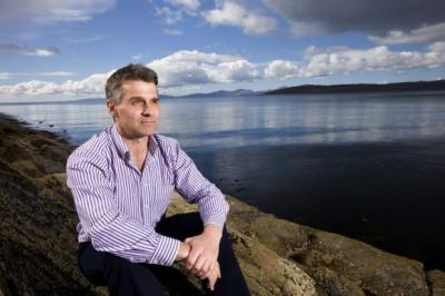 goals: Landcatch boss Neil Manchester believes fish farming industry will overcome obstacles. Picture: John Paul