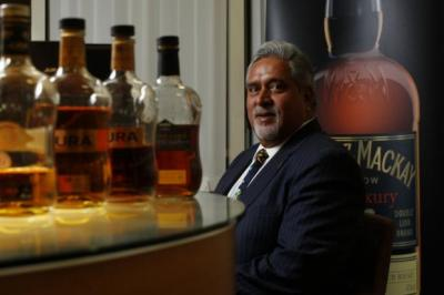 TOP POSITION: United Spirits owner Vijay Mallya will remain chairman after the deal is completed. Picture: Colin Mearns