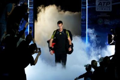 Andy Murray will go into today's semi-final with his confidence sky high    Photograph: Getty