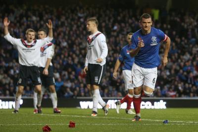 Rangers 2 Peterhead 0
